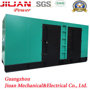 Silent Diesel Power Electric Generator 600 kVA Voltage 220V / 380V Three-Phase Frequency 50 Hz pictures & photos