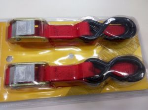 Ratchet Tie Down Strap with Cam Buckle Auto-Lock Tie Down Set pictures & photos