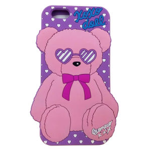 New Little Bear Mobile Phone Silicone Cases for iPhone 6 pictures & photos
