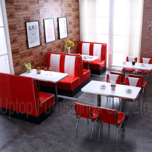 American Style 50s Dining Table Chair for Restaurant Wholesale (SP-CT833) pictures & photos