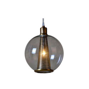 Cavlar Brown Nickel Round Smoke Glass Pendant Light Oz-Al671 pictures & photos