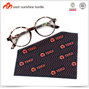 Custom Hot Transfer Printed Microfiber Cleaning Cloth for Eyeglasses pictures & photos