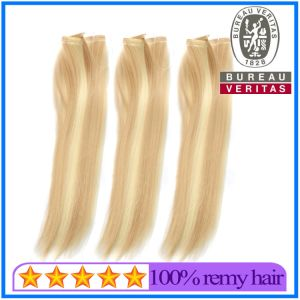Thread Hair Weft pictures & photos