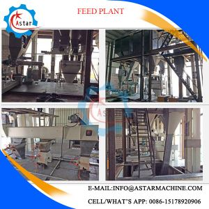 Cattle/Livestock/Chicken/Fish/Pig Feed Pellet Production Line Plant pictures & photos