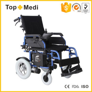 Rehabilitation Handicapped Heavy Duty Foldable Reclining Power Electric Wheelchair Prices pictures & photos
