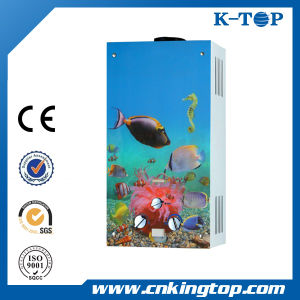 Metallic Color Gas Geyser, Cheap Price Hot Water Heater pictures & photos