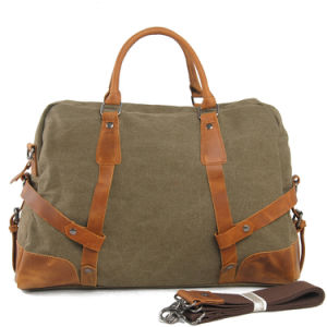 Russian Style Canvas Outdoor Sport Weekend Bag (RS1235A) pictures & photos