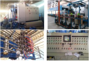Fully-Automatic Sponge Foam Continuous Foaming Production Line pictures & photos