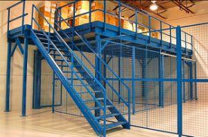 Mezzanine Floor Rack with Steel Platform pictures & photos