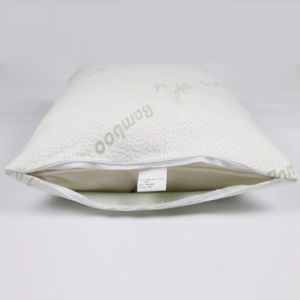 New Design Shredded Memory Foam Pillow with Removable Bamboo Soft Pillow Case pictures & photos