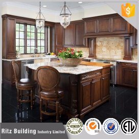 China Best Material Wood Kitchens Cabinet Prices in Egypt China