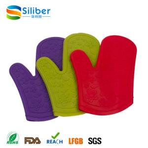 Wholesale Colorful Heat Resistant Grill, Oven, Microwave Silicone Gloves pictures & photos