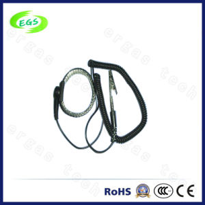 Cleanroom Anti-Static Metal Fixed Wrist Strap Coated with Supplier pictures & photos