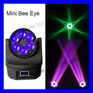 Moving Head 6PCS*12/15W Mini Bee Eye Light pictures & photos