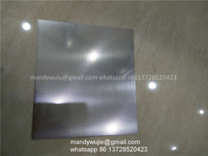 SGS 201 Texture Stainless Steel Sheet in Linen Finished pictures & photos