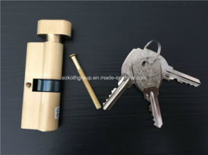 Sokoth Factory Pb Color Brass Cylinder Lock 1.49USD pictures & photos
