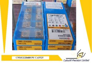 Kyocera Cnmg120408-PS Ca5525 Turning Insert for Turning Tool Carbide Insert pictures & photos