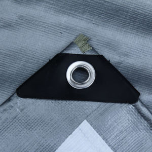 Good Quality HDPE Waterproof Woven Tarpaulin Fabric for Awning/Tent pictures & photos