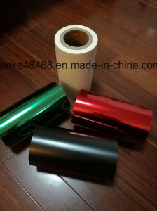 Green, Blue, Yellow, Black, White Color Pet Film /Polyester Film for Label, and Insulation Tape pictures & photos