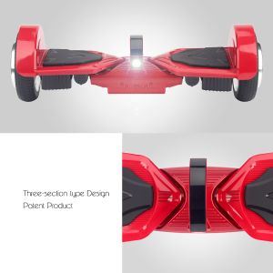 Koowheel Patent Hoverboard 7.5 Inch Wheels K5 with Dual Bluetooth and Smart LED Lights pictures & photos