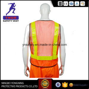 Hi Viz Vest Quality Night Reflective Warning Safety Vest En20471 pictures & photos