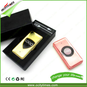Smoking Accessories Rechargeable Slide USB Lighter Metal Stores Online pictures & photos