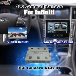Rear View & 360 Panorama Interface for 2017 Nissan Pathfinder with Infiniti Multimedia System Lvds RGB Signal Input Cast Screen pictures & photos