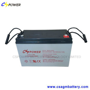 Maintenance Free Gel Battery 12V 100ah for Solar Use pictures & photos
