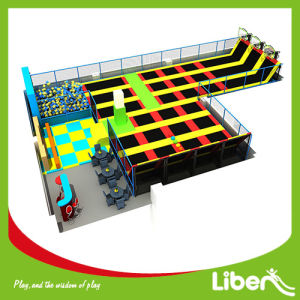 Chain Open Indoor Trampoline Place, Jumping City Indoor Trampoline pictures & photos