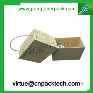 Custom Luxury Cardboard Belts Gift Box with Single Rope pictures & photos