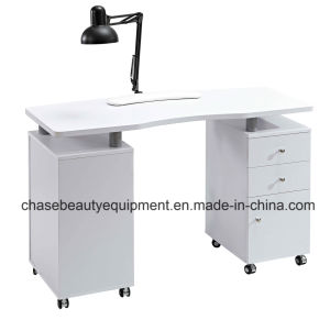 Factory Direct Wholesale Manicure Nail Table with Exhaust Fan pictures & photos