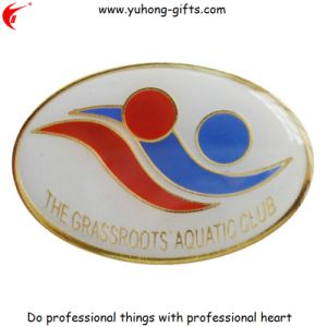 Zinc Alloy Soft Enamel Custom Metal Die-Casting Badge Pins (YH-MP020) pictures & photos