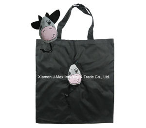 Foldable Shopping Promotional Bag, Animal Cow Style, Reusable, Lightweight, Gifts, Accessories & Decoration, Grocery Bags pictures & photos