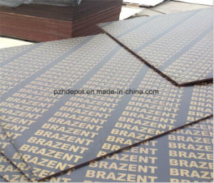 18mm Black&Brown Film Faced Plywood, Anti-Slip Film Faced Plywood pictures & photos