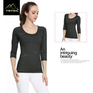 Long Sleeve Yoga T Shirt Running Shirt for Women pictures & photos