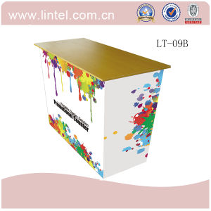 Supermarket Folding Aluminum Promotional Counter pictures & photos