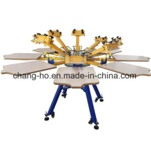 8 Color T-Shirt Silk Screen Printing Machine pictures & photos