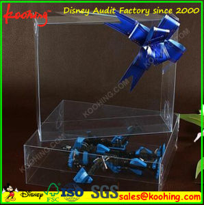 Custom Printing Plastic Clear Pet PVC Retail Packing Gift Box pictures & photos