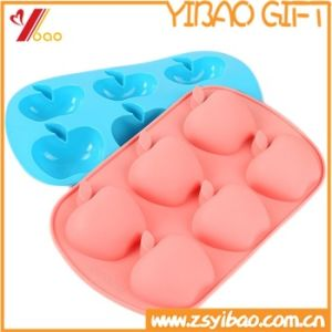 Hot Sale Flower-Shaped Silicone Cake Mould pictures & photos