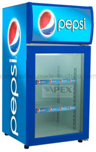 80L Counter Top Display Cooler for Beverage Cooler, Mini Fridge with Ce, CB, RoHS, ETL Certificate pictures & photos