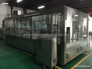 Sparkling Flavored Mineral Water Bottling Machine / 3-in-1 Monobloc Filling Machine pictures & photos