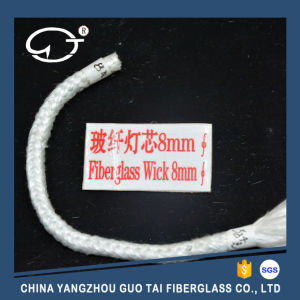 Weaving Long Service Life and Non-Knot Fiberglass Round Wick pictures & photos