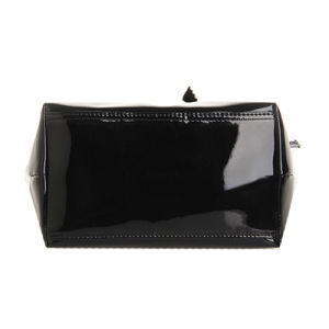 Black Bow Two Sizes Waterproof PVC Handbag (H018) pictures & photos