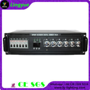 CE RoHS 6X6kw Digital Dimmer Pack RGB PC Lighting Controller pictures & photos