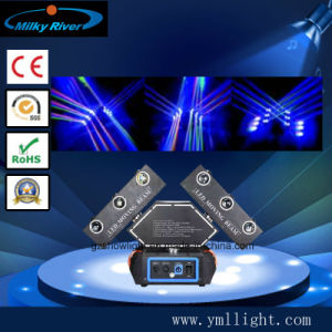 18PCS 10W RGBW 4in1 LED Moving 3 Heads Endless Phantom Beam Light pictures & photos