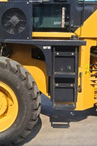 Zl28 2.8ton China Front End Wheel Loader with Pallet Fork, Joystick, AC pictures & photos
