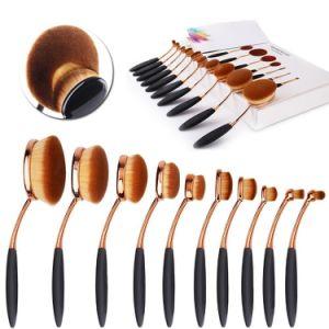 Professional 10PCS Face Fundation Unicorn Cosmetic Make up Brush Set pictures & photos
