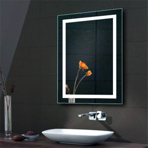 Us and Canada Popular Bathroom Wall Mounted Backlit LED Mirror pictures & photos