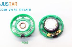 27mm 8-16ohm Mylar Speaker pictures & photos