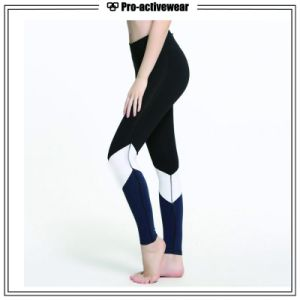 (Free Sample) Custom Woman Wholesale Printing Polyester Spandex Yoga Pants pictures & photos